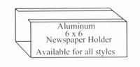 Newspaper-holder